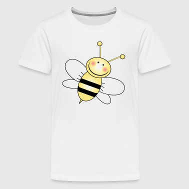 Bee Wing Bumble Bee White Wings - Kids' Premium T-Shirt