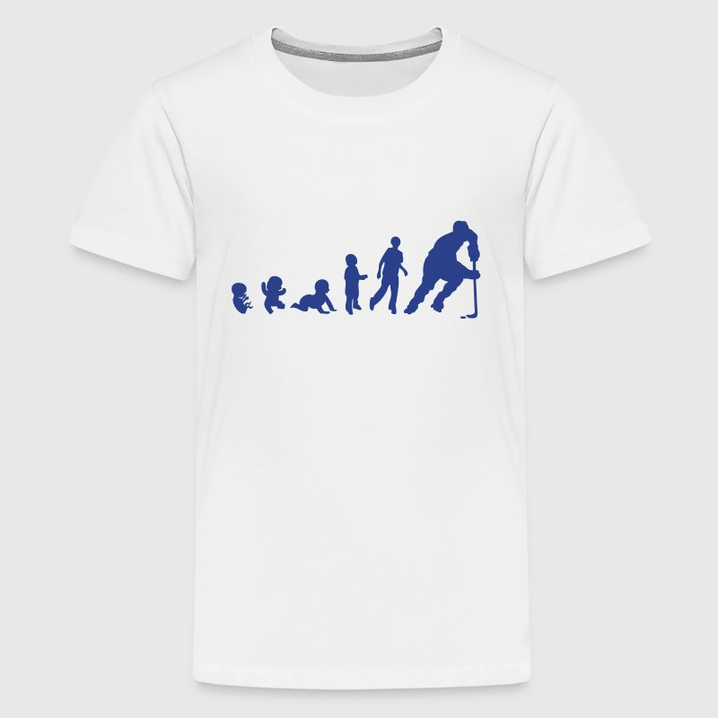 baby evolution hockey inline skating - Kids' Premium T-Shirt
