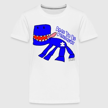 High Functioning Autism Blue Monster For Autism - Kids' Premium T-Shirt