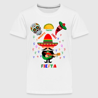 Fiesta Cinco de Mayo Mexican Party tshirt Design - Kids' Premium T-Shirt