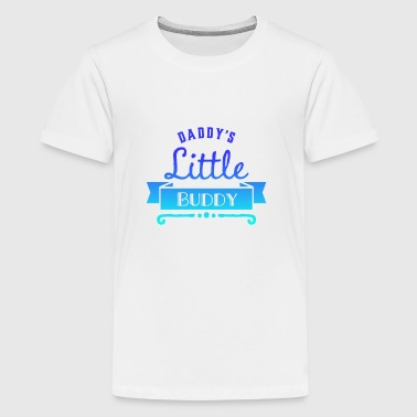 Daddy Little Buddy Daddy's little buddy (fade) - Kids' Premium T-Shirt