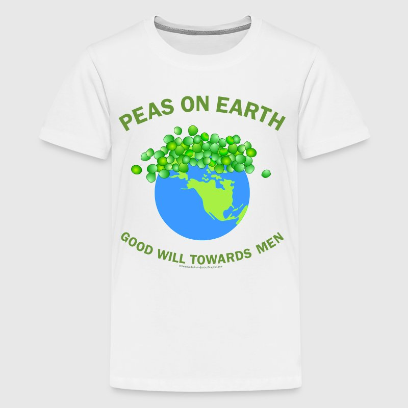 Peas On Earth - Kids' Premium T-Shirt