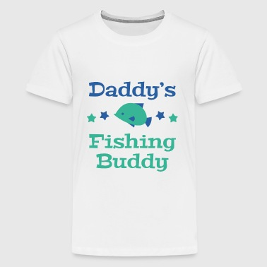 Daddy Little Buddy Daddy's Fishing Buddy - Kids' Premium T-Shirt