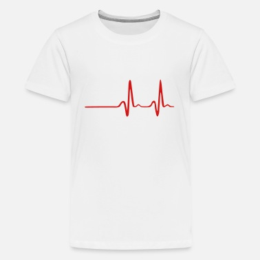 Heartbeat Rhythm Heartbeat - Kids' Premium T-Shirt