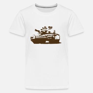 3d1ff13ac8bb8f Military Tanks Tank - Military - War - Kids  39  Premium T-Shirt
