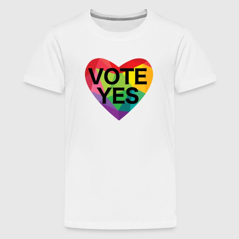 Vote Yes Love - Kids' Premium T-Shirt