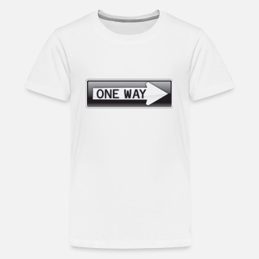 One Way One Way - Kids' Premium T-Shirt