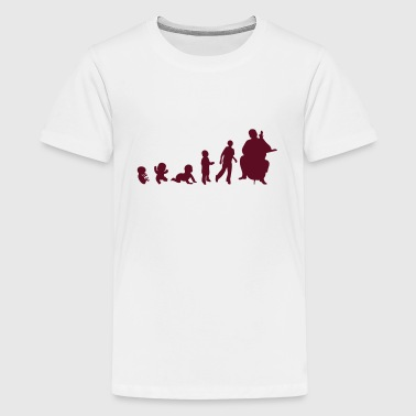 Cello Evolution human evolution cellist cello 1 - Kids' Premium T-Shirt