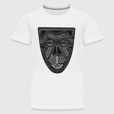 African Art - Mask - Tribal - Kids' Premium T-Shirt