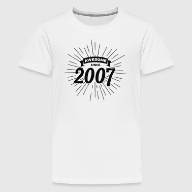 Awesome since 2007 - Kids' Premium T-Shirt