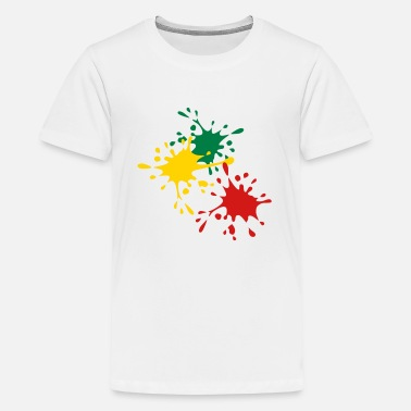 Splash Color Splash Color splash - Kids' Premium T-Shirt