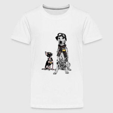 Trendi Trendy Dogs - Kids' Premium T-Shirt