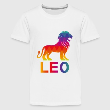 Head Leo Lion T-Shirt For August And July Birthday Gift - Kids' Premium T-Shirt