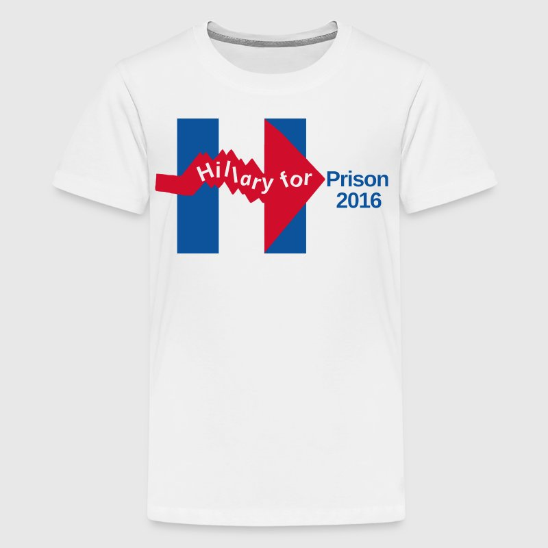 Crooked Hillary For Prison 2016 Mug - Kids' Premium T-Shirt