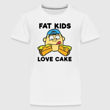 FAT KID ENGLISH - Kids' Premium T-Shirt