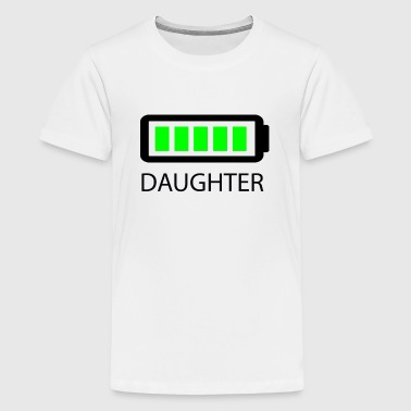 Battery Full Daughter - Kids' Premium T-Shirt