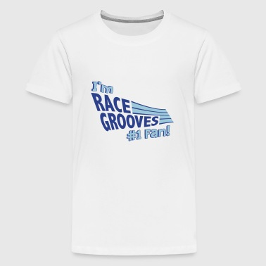 Fan Race I'm Race Grooves #1 Fan - Kids' Premium T-Shirt