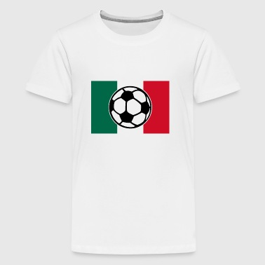 Soccer Mexico Flag - Kids' Premium T-Shirt