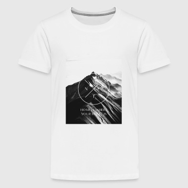 MNTN - Mountain Lover Shirt - Kids' Premium T-Shirt