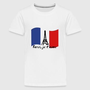Francaise Paris, je t'aime - France - Kids' Premium T-Shirt