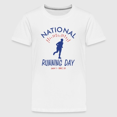 Mens Running Day - Kids' Premium T-Shirt