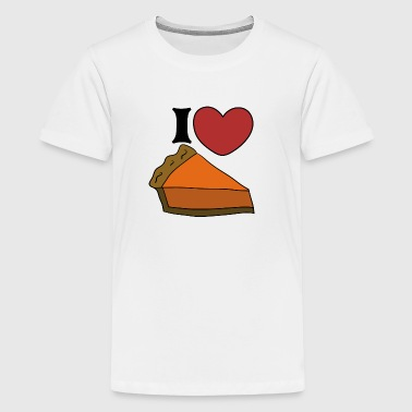 I Love Pumpkin Pie I love pumpkin pie for thanksgiving  - Kids' Premium T-Shirt