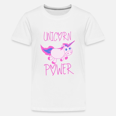 Unicorn Girl Power Unicorn Power - Kids' Premium T-Shirt