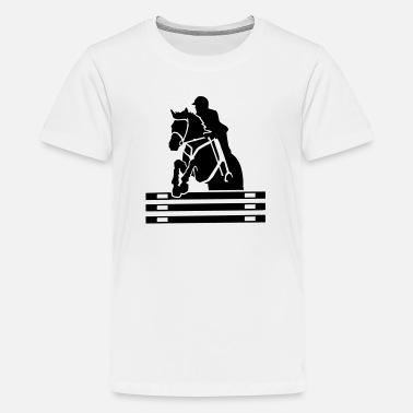 Long Jump Show jumping - Kids' Premium T-Shirt
