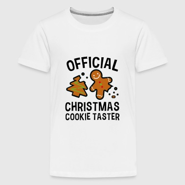 Official Christmas Cookie Taster - Kids' Premium T-Shirt