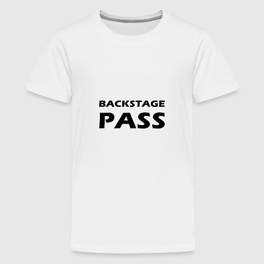 backstage pass - Kids' Premium T-Shirt