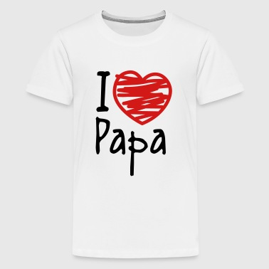 Papas Girl papa - Kids' Premium T-Shirt