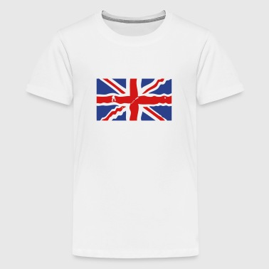 union jack flag - Kids' Premium T-Shirt