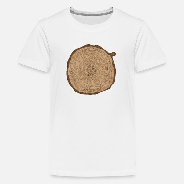 Mitten Cute Mitten Ring Tree Rings Michigan - Kids' Premium T-Shirt