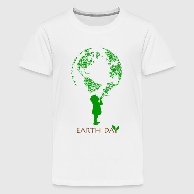 Earth Day Child - Kids' Premium T-Shirt