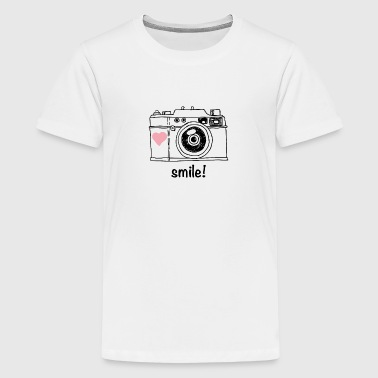 smile for the camera - Kids' Premium T-Shirt