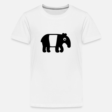 Tapir With Baby Tapir - Kids' Premium T-Shirt