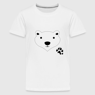 Girls Polar Bear Polar Bear - Kids' Premium T-Shirt
