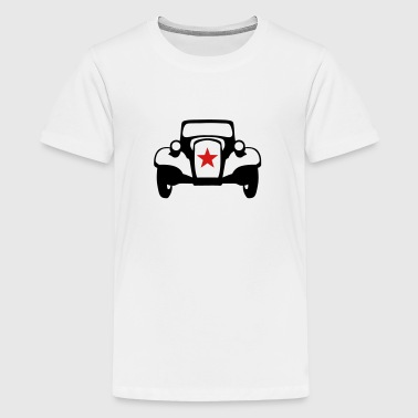 110315 old car traction - Kids' Premium T-Shirt