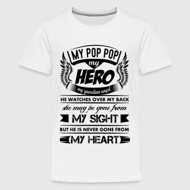 My Hero My Pop Pop - Kids' Premium T-Shirt