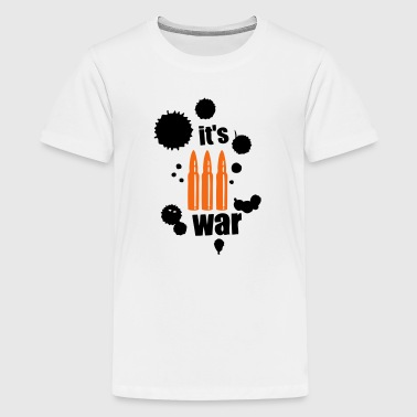 it s war ammunition cartridge - Kids' Premium T-Shirt