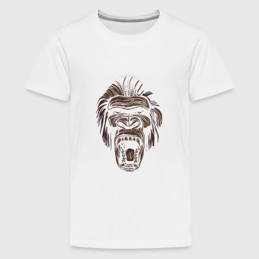 ape face - Kids' Premium T-Shirt