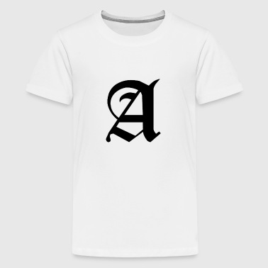 A Alfabet For Your Initials Name - Kids' Premium T-Shirt