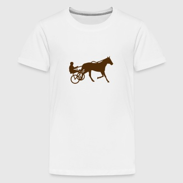 Harness trotting race - Kids' Premium T-Shirt