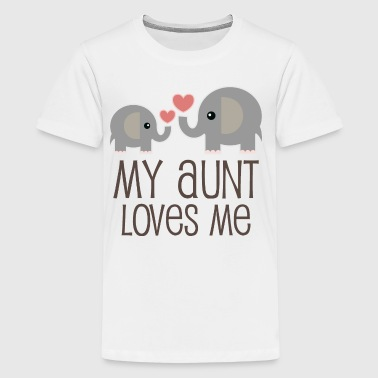 Aunt Loves Niece Nephew - Kids' Premium T-Shirt