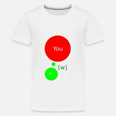 Agario W = friends - Kids' Premium T-Shirt