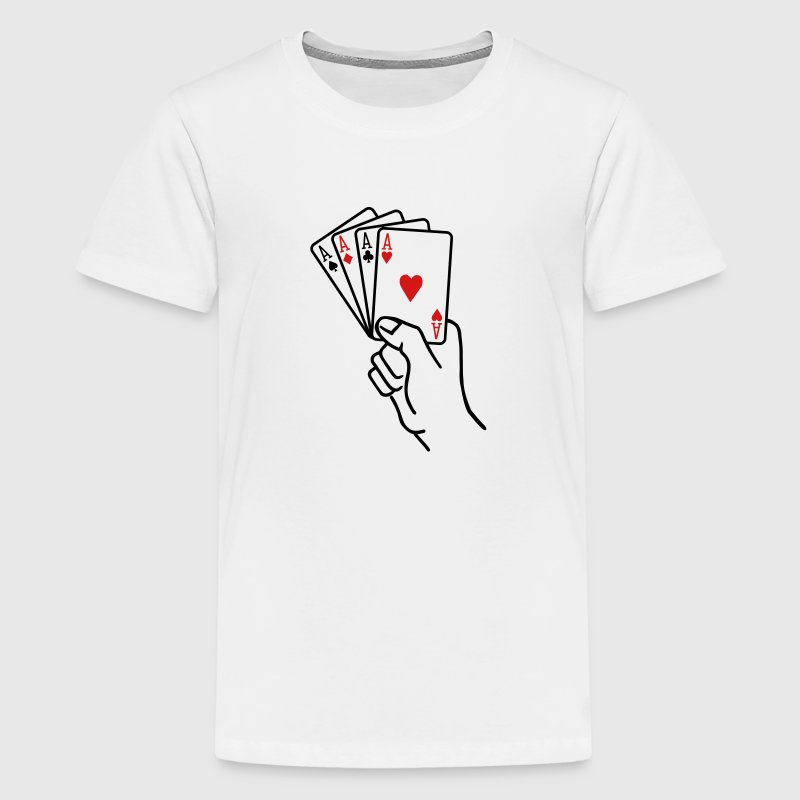 Poker - Kids' Premium T-Shirt