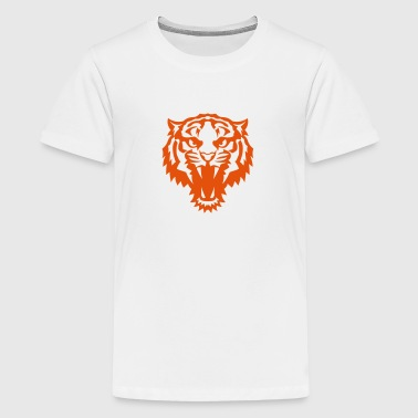 animal tiger savage 407 - Kids' Premium T-Shirt