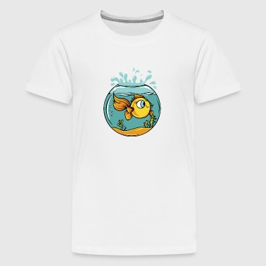 Fish bowl - Kids' Premium T-Shirt