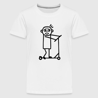 Kick Scooter Kick Scooter / Board  - Boy - Kids' Premium T-Shirt