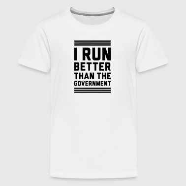 Runs Government Governement - Kids' Premium T-Shirt